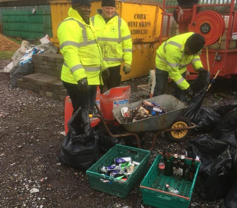 Segregating The Rubbish